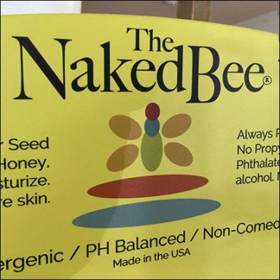 Naked Bee All-Good No-Bad Display
