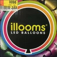 Halloween Light-Up Balloon Gravity-Feed