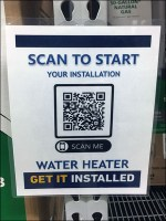 QR-Code Water Heater Installation Offer