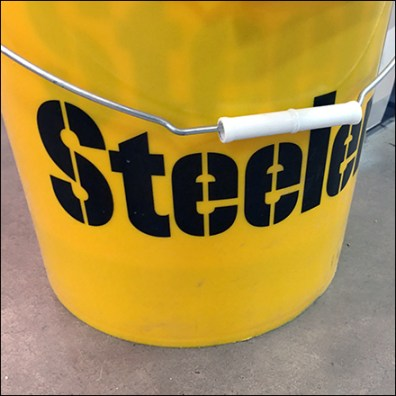 Pittsburgh Steelers 5-Gallon Bucket Promotion