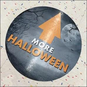 Halloween-This-Way Floor-Graphic Directional