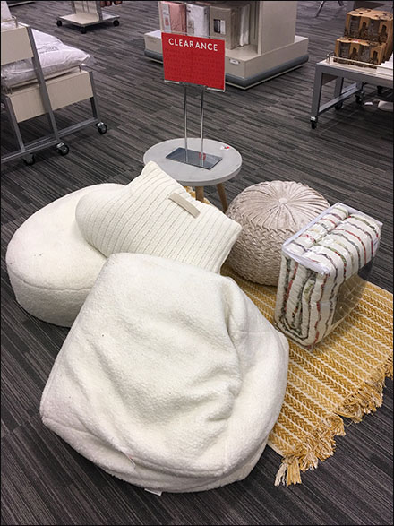 Nordstrom Rack Giant Pillow Clearance