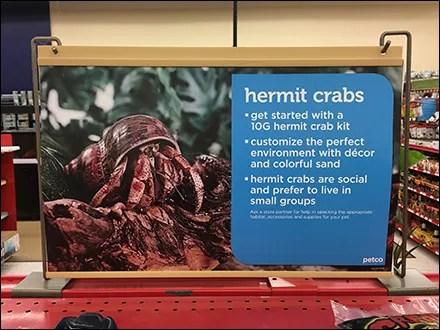 Hermit-Crab Gondola Median Sign