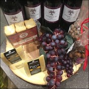 Red Wine Cheese-and-Fruit Props