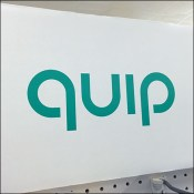 Quip Toothbrush Array Shelf-Top Display