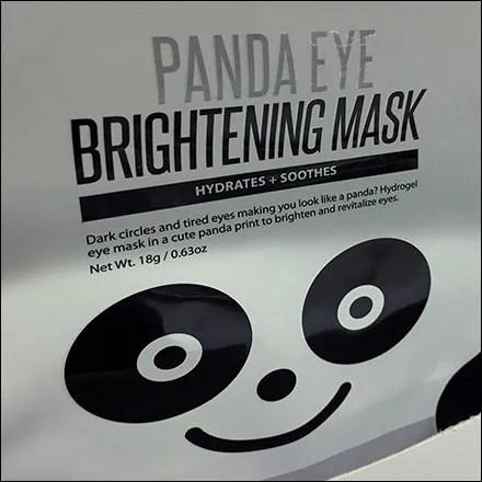 Panda-Eye Face Mask Shelf-Edge Outreach