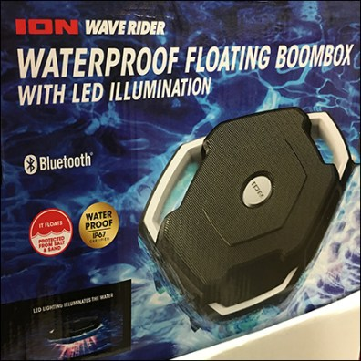 Wave-Rider Floating Boombox Display