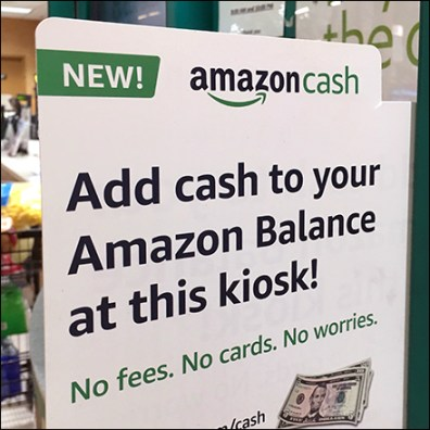 Grocery Coinstar Amazon Deposits Accepted