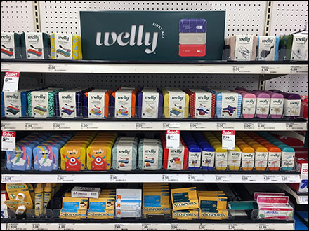 Welly First Aid In-Aisle Display