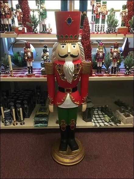 Full-Size Christmas Nutcracker Concierge