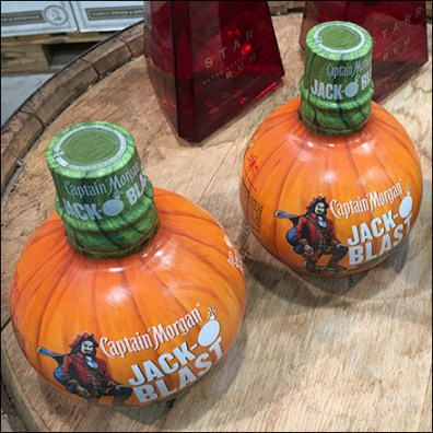 Captain Morgan Jack-O-Blast Pumpkin Bottle