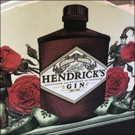 Hendrick's Gin Chalkboard Easel Pirated