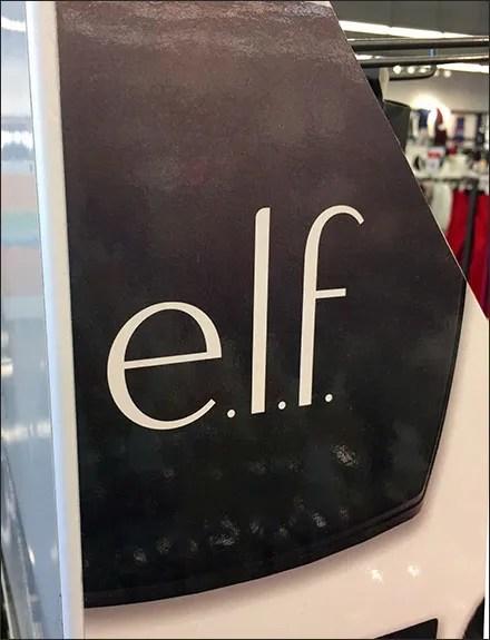 Elf Cosmetics Merchandising Displays - Elf Cosmetics Queue Display Branding