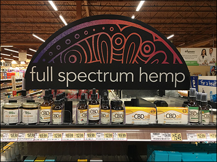 Full-Spectrum Hemp CBD Endcap