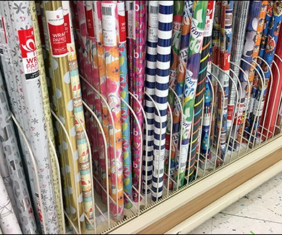 Gift-Wrap Open-Wire Shelf Dividers
