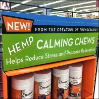 Calming Hemp Chews PowerWing Merchandising
