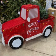 Merry Christmas Pickup Truck