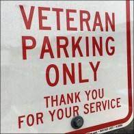 Veterans-Only Parking Designation Everyday