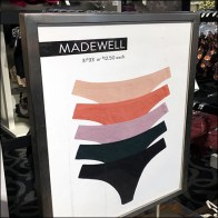 Madewell Pictorial Panty Merchandising
