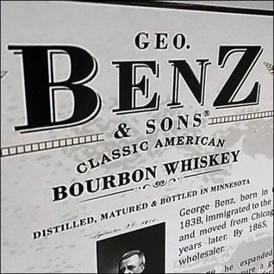 Geo. Benz Classic Bourbon PosterGeo. Benz Classic Bourbon Poster