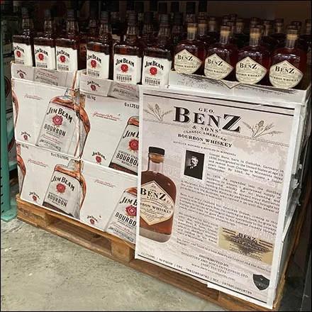 Geo. Benz Classic Bourbon Poster