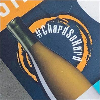 #ChardSoHard Social Distance Floor Graphic