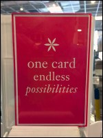 Pier 1 Endless-Possibilities Gift Card TowerPier 1 Endless-Possibilities Gift Card Tower