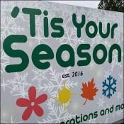 Tis-Your-Season Inflatable Abominable Snowman