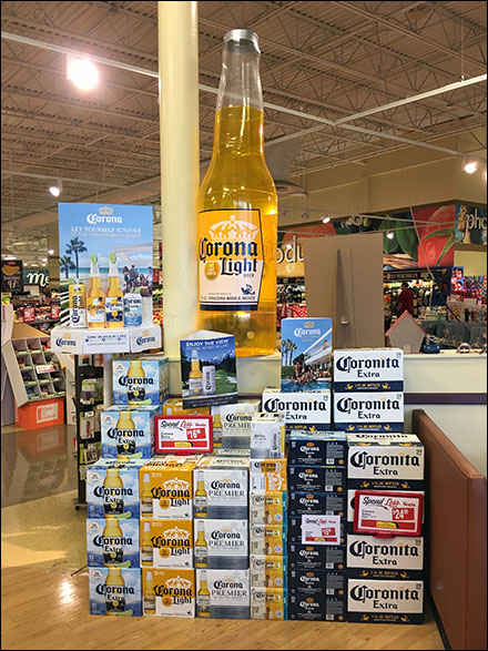 Corona Light-Beer Inflatable Display
