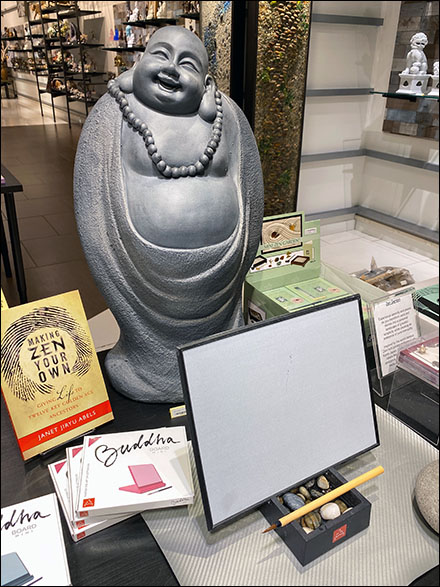 Buddha Board Brush-Lettering Try-Me