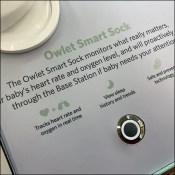 Owlet Baby Monitor Smart-Sock Demo
