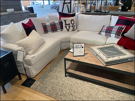 Oversize-Sectional Pillow Staging Love