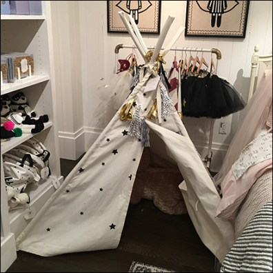Kids TeePee Visual Merchandising Prop