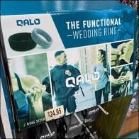 Qalo Functional Wedding Ring Display