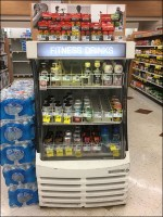 Grab-And-Go Fitness Drinks Cooler