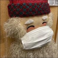 Santa's Christmas Face Mask Strategy