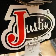 Justin Cowboy-Hat Carousel Rack