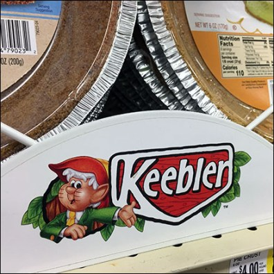 Keebler Shelf-Long Pie-Crust Rack