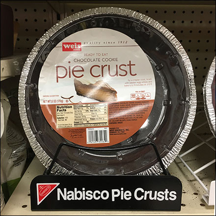 Weis Nabisco-Branded Pie Crust Carrier Square