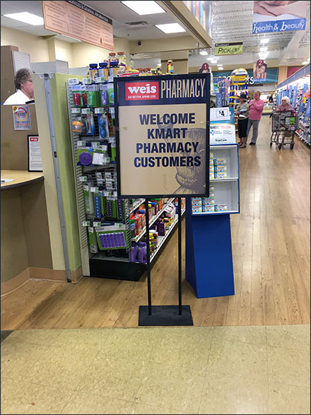 Weis Welcomes Kmart-Pharmacy Customers