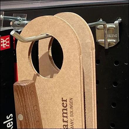 Metal Pegboard Flatback-Display-Hooks