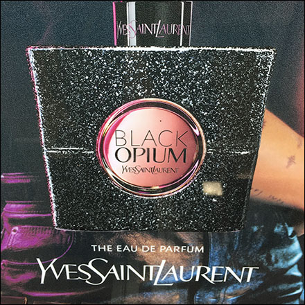 Yves-Saint-Laurent Black Opium Endcap