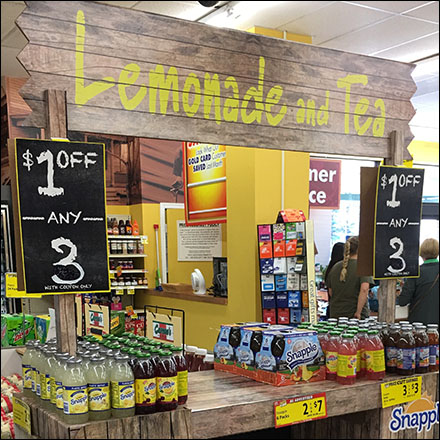 $1-Off-Any-3 Branded Lemonade Stand Promotion$1-Off-Any-3 Branded Lemonade Stand Promotion