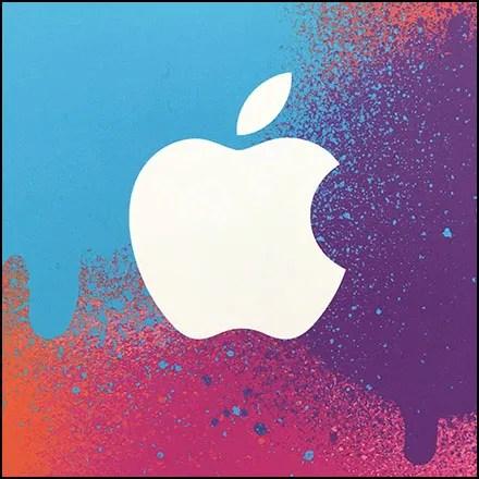 Apple Ganged Gift-Card Pallet Display