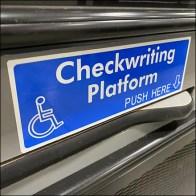 Cashwrap Foldout Checkwriting Platform
