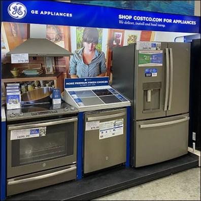 Comprehensive GE Appliance Display