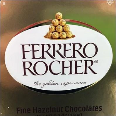 Ferrero-Rocher Shelf-Top Star DisplayFerrero-Rocher Shelf-Top Star Display