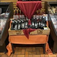 Fine-Wine Dual Table-Drape Merchandising