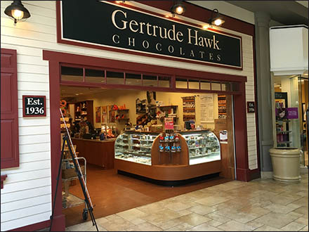 Gertrude-Hawk Chocolates Established 1936