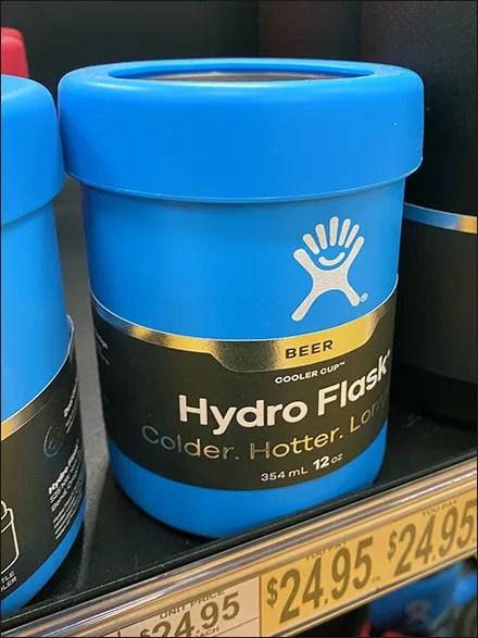 Hydro-Flask Beer and Food Adjacency